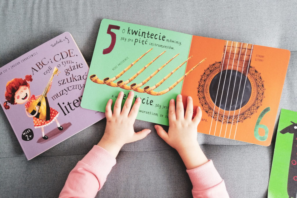 książeczki muzyczne dla dzieci